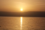 Sunrise over Galilee